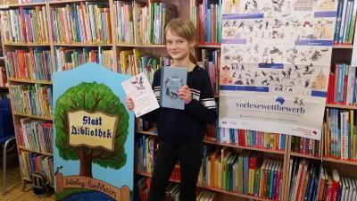 Foto zur Meldung: Grundschule beim regionalen Lesewettbewerb dabei
