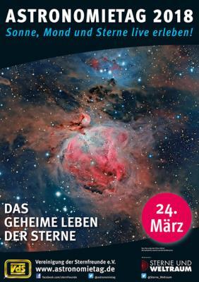 """Vorschaubild zur Meldung: Beobachtungsabend """"Sterne live am 24. März"""""""
