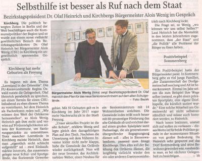 Auszug Der Bayerwald Bote 28.02.2018