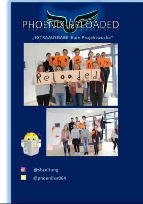 """Vorschaubild zur Meldung: Die Schülerzeitung """"Phoenix"""" ist online."""