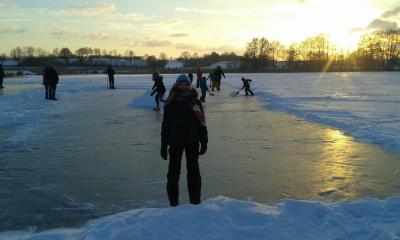 Foto zu Meldung: Der Winter hat Schmalensee weiter im Griff – und regt zur fotografischen Kreativität an