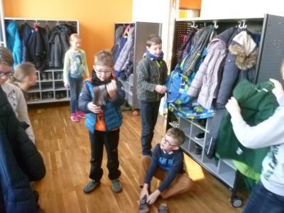 Foto zu Meldung: Neue Garderoben