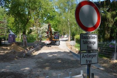 Straßenbauarbeiten in der Anschützstraße und in der Barkhausenstraße beginnen