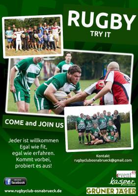 Vorschaubild zur Meldung: Rugby - Try it!