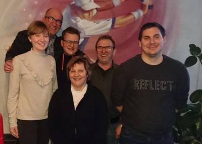 v. l.: Noelle Brahm, Norbert Liesenfeld, Jan Theiß, Waltraud Lauderbach, Werner Lauderbach, Rene Bylda (es fehlt Matthias Weber).