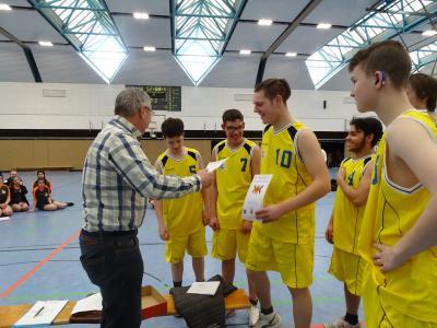 Foto zur Meldung: Qualifikations-Turnier im Basketball der Landesbildungszentren