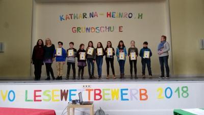 Vorschaubild zur Meldung: Vorlesewettbewerb - Deutsch als Partnersprache - 2018