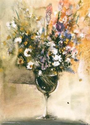 Blumenaquarelle von Gerhard Lahr