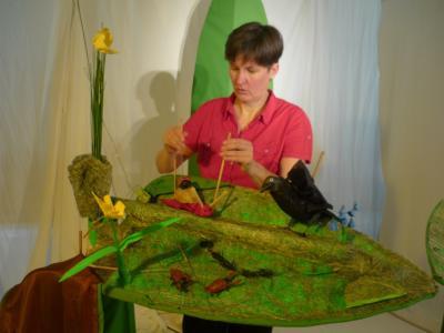 Vorschaubild zur Meldung: Theateratmosphäre im Kindergarten Hegelstrasse