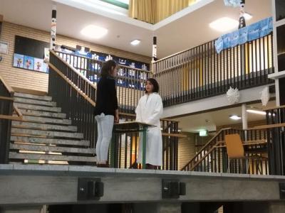 Foto zur Meldung: Vorführung der Theater-WPK Gruppen