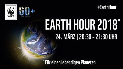 Vorschaubild zur Meldung: Earth Hour 2018 - Für einen lebendigen Planeten