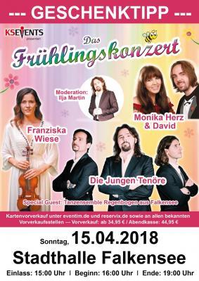 Den Lenz in der Stadthalle begrüßen - Frühlingskonzert am 15. April