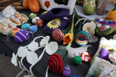 Vorschaubild zur Meldung: Handwerker-, Kreativ- und Ostermarkt