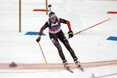 Emilie Behringer Deutsche Biathlon-Jugendmeisterin - Foto: Joachim Hahne