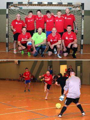 Foto zur Meldung: 7. St. Florian-Cup im Hallenfußball in Laage