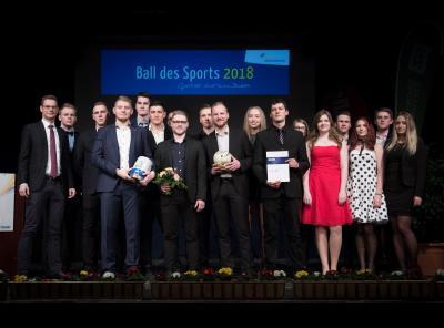 Sieger der Mannschaft - GBC Squierrels