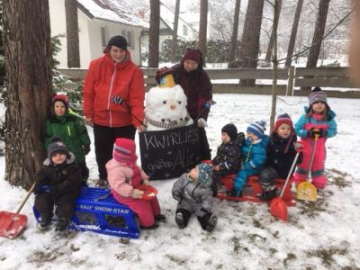 Foto zu Meldung: Winter bei den KWIRLIES