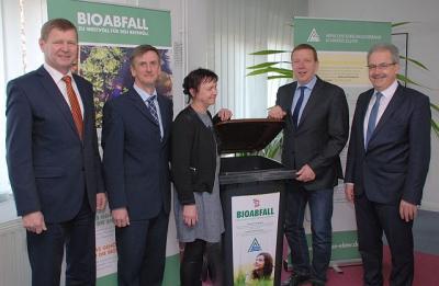 Foto zur Meldung: Landkreise wollen Bioabfall gemeinsam verwerten