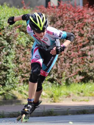 Vorschaubild zur Meldung: Friederike Dobberkau im NRIV Junior Team 2018