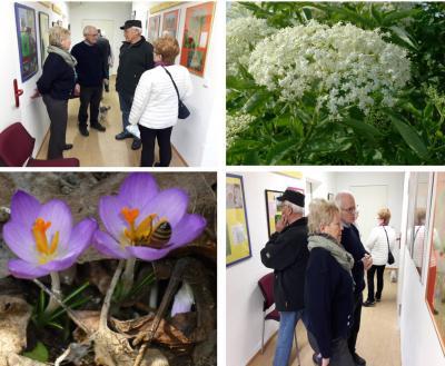 """Foto zur Meldung: Eröffnung der Fotoausstellung: """"Der Frühling kommt"""" Fotos in der Kellergalerie"""