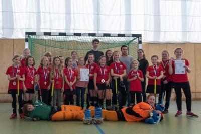 Foto zur Meldung: Landespokal der Mädchen C: 1. Platz und 3. Platz