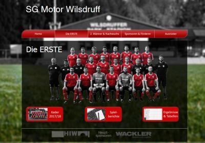 Foto zur Meldung: - Neue Fußball Website -