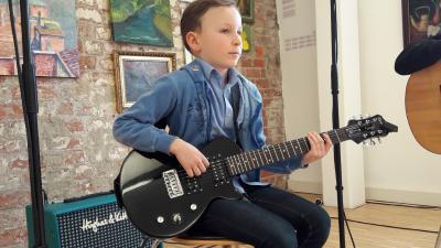 Foto zur Meldung: Ein Nachmittag im Zeichen der Gitarre