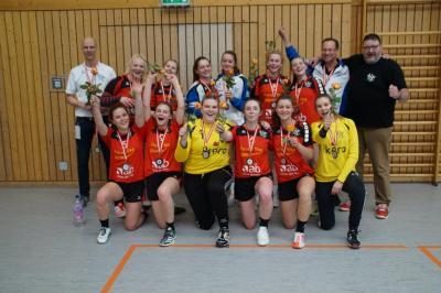 Foto zur Meldung: Auswärtssieg, Auswärtssieg...und damit die Bronzemedaille für die A-Jugend des HSV 04