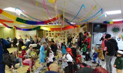 "Foto zu Meldung: Kinderfasching unter Motto ""Zirkus"""