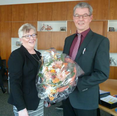 Foto zur Meldung: Verabschiedung von unserer Mitarbeiterin Frau Gudrun Press