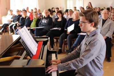 Vorschaubild zur Meldung: 27. Jugendförderpreis Musik der Stadt Wittstock/Dosse vergeben