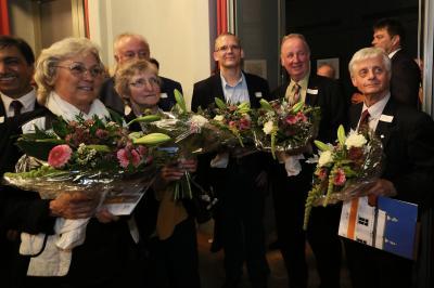 Diese Oranienburgerinnen und Oranienburger wurden 2017 mit dem Ehrenpreis der Stadt Oranienburg ausgezeichnet.