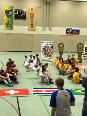 Foto zu Meldung: Mitteilung der Oberschule Rangsdorf - 4. Fußball-WM der Schulen in Blankenfelde-Mahlow