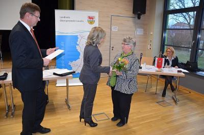 Foto zur Meldung: Wechsel an der Spitze des Kreisseniorenrates / Verwaltung dankt Dr. Jürgen Störmer für langjähriges Engagement