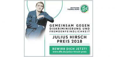Foto zur Meldung: Julius Hirsch Preis 2018 ausgeschrieben – Jetzt bewerben!