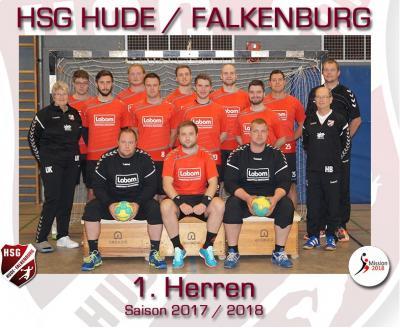Vorschaubild zur Meldung: HSG Hude/Falkenburg holt Meisterschaft in der Regionsoberliga der Männer