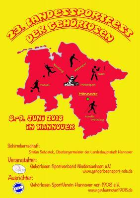 Foto zur Meldung: 23. Landessportfest der Gehörlosen in Hannover