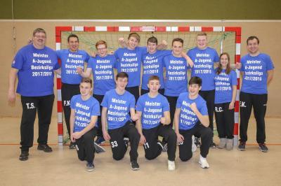 Vorschaubild zur Meldung: Nachwuchsmangel und trotzdem Meisterschaft der m.A-Jugend gewonnen - JSG Buchberg sucht weiterhin Verstärkung für die Teams
