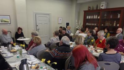 Foto zur Meldung: Literatur-Café: Klaus Hoferichter