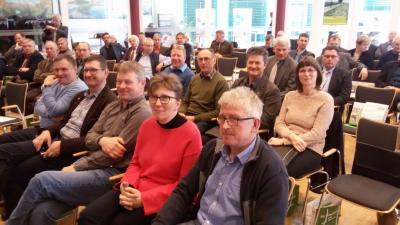 Delegation unseres Bauernverbandes