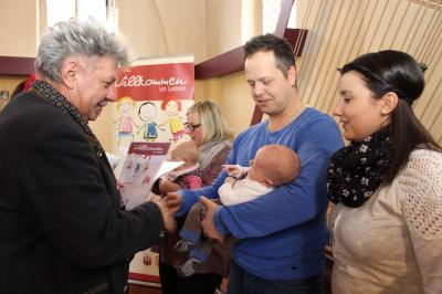 Vorschaubild zur Meldung: Geschenke für neugeborene Wittstocker