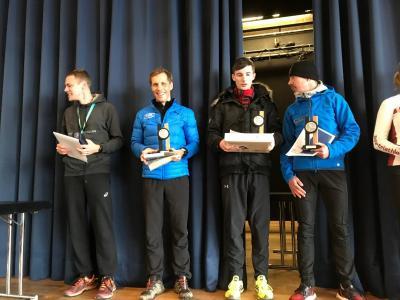 Foto zur Meldung: René Göldner holt dritten Platz beim Königsforst Halbmarathon
