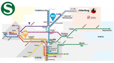 Vorschaubild zur Meldung: Neue S-Bahn-Verbindungen ab/bis Jüterbog