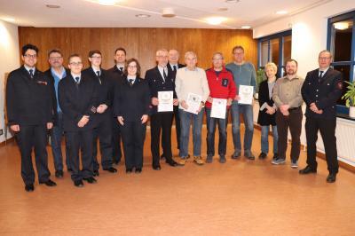 Vorschaubild zur Meldung: Jahreshauptversammlung der Feuerwehr Griedelbach
