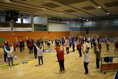 Vorschaubild zur Meldung: Bewegung und gesunde Ernährung zum 4. Seniorensporttag in der Werner- Aßmann-Halle Eisenach