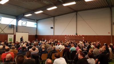 Einwohnerversammlung der Gemeinde Oering – ein voller Erfolg