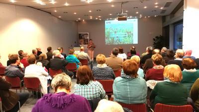 Gut besuchter Vortrag zur Biodiversität