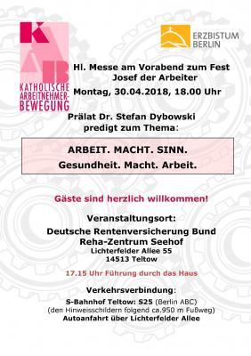 Plakat 30.04.2018 Teltow