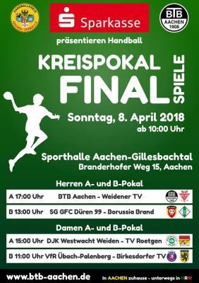 Vorschaubild zur Meldung: Pokalendspiele Senioren im Gillesbachtal