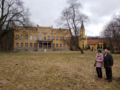 Foto zur Meldung: Enkel auf Heimatreise in Küstrin und Tamsel: Eine Spurensuche